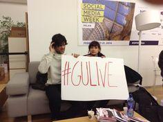 A tu per Gu - Gugliemo Scilla  Live @Social media week Milan 2014