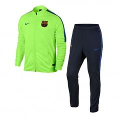 Nike FC Barcelona trainingspak heren ghost green game royal De Wit Schijndel
