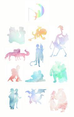 DreamWorks OTPs!!  Po+Tigress,  Alex+Gia, Melman+Gloria, Spirit+Rain, Jack+Toothiana, Guy+Eep, Hiccup+Astrid (MY TOP OTP!!!), Shrek+Fiona, Megamind+Roxanne, Donkey+Dragon, Stoick+Valka
