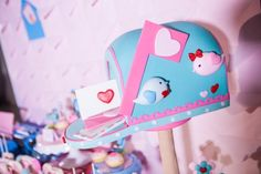 Hip Postal Mail Themed Party Ideas - Cake Party Themes, Party Ideas, Editorial, Photoshoot, Cake, Sweet, Candy, Photo Shoot, Kuchen