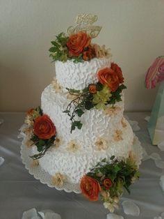 Wedding anniversary cake! :)