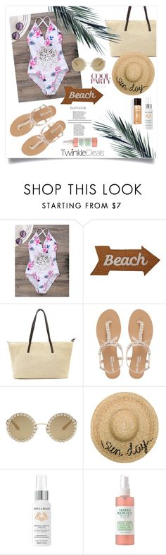 """xx"" by callmelessie ❤ liked on Polyvore featuring Mud Pie, Head Over Heels by Dune, Dolce&Gabbana, Eugenia Kim and Apple & Bears"