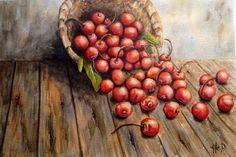 Cestino di ciliegie