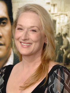 Meryl Streep has aged more graceful than anyone. Ever.
