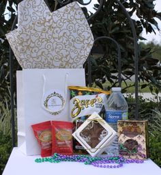 "New Orleans Welcome Gift – Welcome your guest the ""Big Easy"" way!"