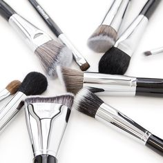 #PROtip: To keep your makeup looking vibrant, wash your brushes at least every two weeks. Dirty brushes affect color payoff! #Sephora