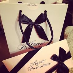 A beautiful packaging of Agent Provocateur