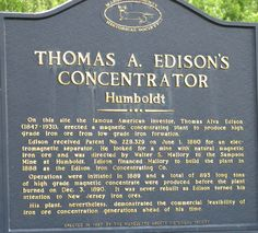 Thomas Edison in the UP!