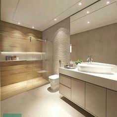 New flooring cement bathroom Ideas Wood Tile Bathroom Floor, Cozy Bathroom, Bathroom Windows, Modern Bathroom, Bathroom Ideas, Tile Floor, Bathroom Design Luxury, Bathroom Design Small, Bad Inspiration