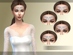 Head Ornament by S4Grace at TSR via Sims 4 Updates