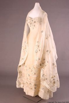 Ensemble Christian Dior, 1955 The Henry Ford Costume Collection