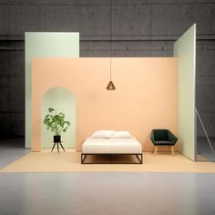 A minimalist's platform bed frame dream. Enough room for storage underneath, and can be used with or without a box spring–whether you like to sleep high or low. Shop Zinus' steel bed in twin, full, queen, and king. A Frame Cabin, A Frame House, Blender 3d, Twin Size Bed Frame, Deco Studio, Studios, Steel Bed, Wood Platform Bed, New Beds