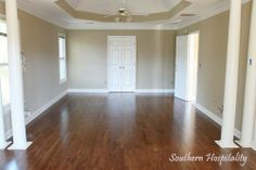 Paint color: Sherwin Williams Windsor Greige.