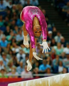 Gabrielle Douglas of the U. competes in the balance beam during the women's individual all-around gymnastics final during the London 2012 Olympic Games All Around Gymnastics, Artistic Gymnastics, Olympic Gymnastics, Gymnastics Girls, Olympic Games, Gymnastics History, Elite Gymnastics, Gymnastics Posters, Olympic Team