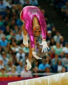 Gabby Douglas what a great shot!
