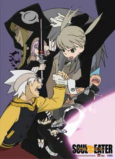Soul Eater Wall Scroll - Battle Time @Archonia_US