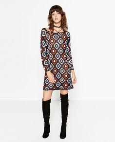 CROCHET DRESS-DRESSES-WOMAN | ZARA United States