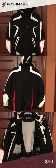 Killtec Technical Outdoor Insulated Jacket Men's size XL, Killtec Jacket, insulated with a sporty design, its warm and functional in great condition. Maximum storage, anti slip waist gaiter, Velcro and zip closures, pass holder and phone holder Killtec Jackets & Coats Ski & Snowboard