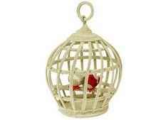 Prächtiger goldener Häkel-Käfig von Anne-Claire Petit