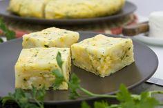 e-cocinablog: tortilla de patata con ajo y perejil