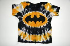 Tie Dye Batman Baby Infant T-Shirt on Etsy, $12.00