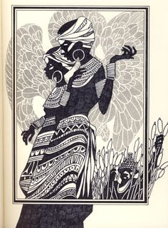 An online archive dedicated to sharing the work of Leo and Diane Dillon Afro, Ace Books, Roald Dahl, African Art, African Culture, 1 Peter, Black Art, Line Art, Printmaking