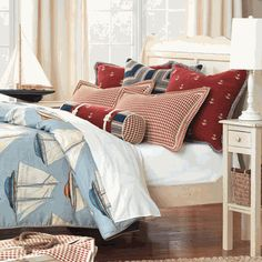 Rocky Harbor Bedding and Coordinates nautical boys bedding DesignNashville.com message us for quotes. we beat wayfair's pricing by at least 12%