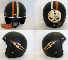 Old School Helmets.. this guy does awesome work.