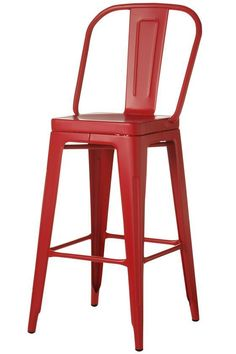 Red Bar Stools On Pinterest Red Dining Chairs Soft