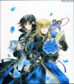 artbook pandora hearts | Tumblr