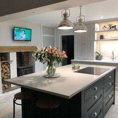 Brilliant kitchen lighting ideas john lewis to inspire you - Modern Kitchen Remodel - Open Plan Kitchen Diner, Open Plan Kitchen Living Room, Open Plan Living, New Kitchen, Kitchen Decor, Kitchen Ideas, Kitchen Furniture, Kitchen Sink, Island Kitchen