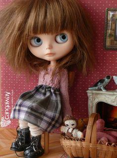 Classy ver. dress for Blythe par Cangaway sur Etsy