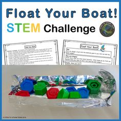 Columbus Day: Float Your Boat STEM Challenge by STEM To STEAM Team Primary Science, Stem Science, Mad Science, Next Generation Science Standards, Float Your Boat, Teaching First Grade, Stem Challenges, Holiday Activities, Science Lessons