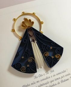 Arte Quilling, Origami And Quilling, Origami Paper Art, Quilling Craft, Quilling Patterns, Quilling Designs, Paper Quilling, Diy And Crafts, Arts And Crafts