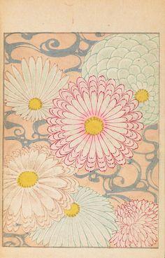 Vintage Japanese Patterns - Shin-bijutsukai