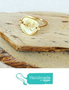 Artisian Hand Stamped Coin Gold Ring https://www.amazon.com/dp/B01N1NX5F7/ref=hnd_sw_r_pi_dp_Q0EqybTGXE3TQ #handmadeatamazon