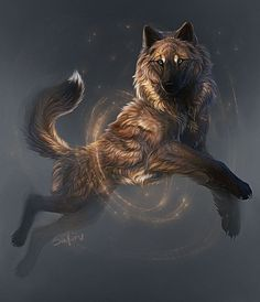 Anime Wolf, Pet Anime, Anime Animals, Mythical Creatures Art, Fantasy Creatures, Wolf Character, Character Ideas, Character Inspiration, Wolf Artwork