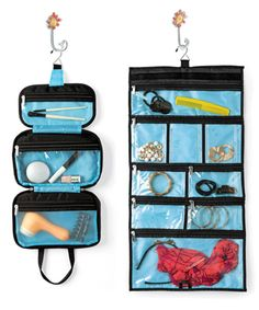 Tips for Going on a Cruise - Make the most out of your cabin space by using a hanging toiletry kit.