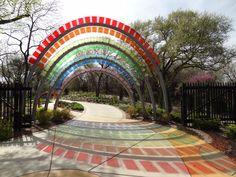 Gateway to the Children's Garden at Botanical Gardens- Wichita, Kansas