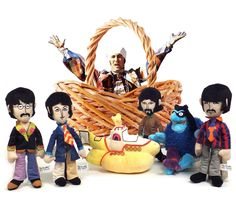 Where is the Eggman? Happy Easter from BuyRockNRoll! Don't Hide All Your Beatles in One Basket ;) Collectible Yellow Submarine Plush Figure Set.
