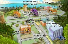 Uma incrível descrição da cidade