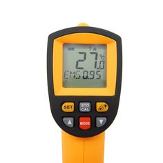 (26.41$)  Watch now - http://aif6y.worlditems.win/all/product.php?id=32796700258 - Digital ir infrared thermometer non contact infrared thermometer Gun Thermometer -50~900C (-58~1652F) 0.1~1.00 adjustable GM900