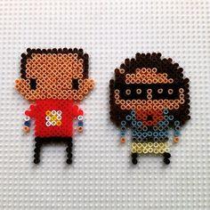 Sheldon & Amy - TBBT hama beads by hadavedre