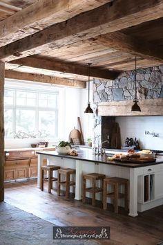 Картинки по запросу фото интерьера кухни в стиле шале