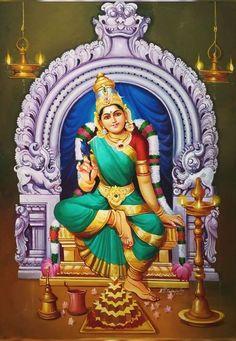 Thousand names of lalitA: cakrarAjarathArUDasarvAyudhapariShkrutA Saraswati Goddess, Goddess Lakshmi, Durga Images, Lakshmi Images, Shiva Art, Hindu Art, Maa Durga Image, Tantra Art, Lord Hanuman Wallpapers