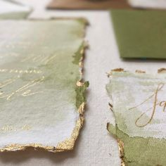 Ink artisan: @paperocelot  Paper: @fabulousfancypants  #Repost @paperocelot ・・・ The light today is perfect for capturing the subtle texture, washes and gold on this amazing @fabulousfancypants paper! I loved working with this moss and gold suite!! Just in so much love!!!
