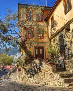 Kavala & Greece Best Cities, Mansions, Country, House Styles, City, Greece, Pictures, Manor Houses, Rural Area