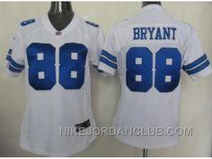 http://www.nikejordanclub.com/nike-women-nfl-jerseys-dallas-cowboys-88-bryant-white-cry47.html NIKE WOMEN NFL JERSEYS DALLAS COWBOYS #88 BRYANT WHITE CRY47 Only $23.00 , Free Shipping!