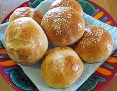Milk and Honey Rolls Greek Recipes, Desert Recipes, Pasta Choux, Food Network Recipes, Cooking Recipes, The Kitchen Food Network, Greek Sweets, Greek Cooking, Bread And Pastries