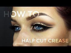 Half Cut Crease Tutorial - Too Faced Chocolate Bar Palette